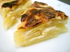 gratin dauphinois - french food