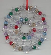Safety Pin Beaded Projects | Christmas and Winter Craft Kits