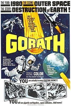 'Gorath 1962' - Fantastic A4 Glossy Print Taken From A Vintage Sci-Fi Movie Poster by Design Artist http://www.amazon.co.uk/dp/B00U3E6C8W/ref=cm_sw_r_pi_dp_B41jvb05S30CV