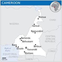 Cameroon - Location Map (2013) - CMR - UNOCHA - Cameroon - Wikipedia, the free encyclopedia