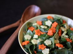Pair tonight's dinner with a spinach salad. Get the recipe from FN Dish.