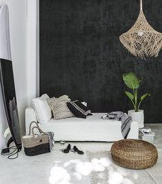 Indie Monochrome Summer House black plywood
