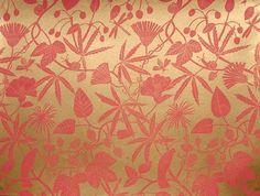 Design Patois: Marthe Armitage Hand Printed Wallpapers