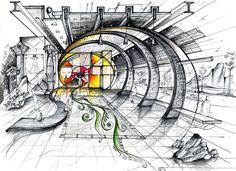Landscape & Gardening Awards 2018 half Landscape Gardening In Japan Josiah Conder Architecture Concept Drawings, Architecture Sketchbook, Architecture Portfolio, Interior Architecture, Interior Design Renderings, Interior Sketch, Interior Concept, Jewelry Store Design, Architecture Presentation Board