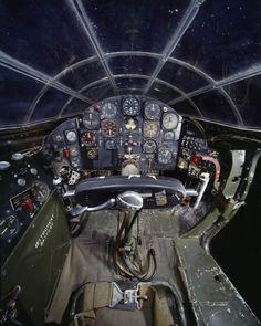 07-cockpit-avion-Bell X-1