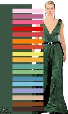 Colour Combinations Fashion, Color Combinations For Clothes, Fashion Colours, Color Combos, Deep Winter Colors, Vintage Street Fashion, Fashion Capsule, Color Balance, Colour Pallete
