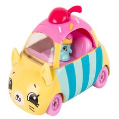 Shopkins Series 1 Cutie Car - Cupcake Cruiser