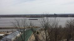 Barge out on the river today.