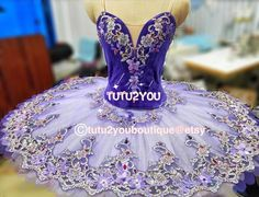 P-010 Purple Professional Ballet Tutu