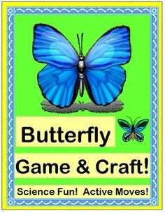 Play an ACTIVE GROUP GAME, make a BUTTERFLY CRAFT, and have fun with age-appropriate 'TALKING POINTS' about the lives of Butterflies!  Simple SONG DIRECTIONS are included-- just add your best Butterfly 'MOVES'!  (8 pages)  Science with a 'beat' from Joyful Noises Express TpT!  $