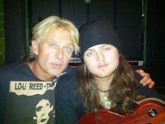nick & james backstage