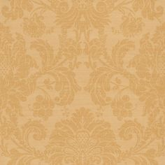 Crivelli Gold (ZCDW02004) - Zoffany Wallpapers - A sophisticated and traditional fruit-and-leaf damask design in golden beige on a shimmering gold. Beautiful elegance for both contemporary and classic interiors. Additional colourways also available. Please request sample for true colour match.