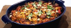 Make-Ahead Mexican Strata