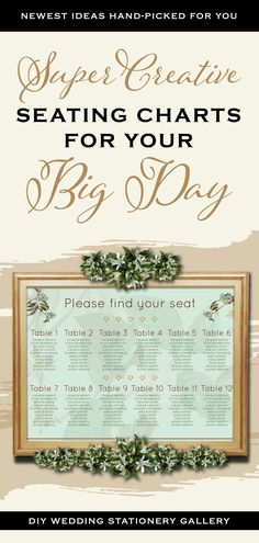 A Seating Chart Sign Board is a basic requirement for your Wedding! DIY Wedding Seating Chart ideas Indian Wedding Invitations, Wedding Invitation Cards, Wedding Cards, Wedding Signs, Diy Wedding, Pink Save The Dates, Modern Wedding Stationery, Seating Chart Template, Save The Date Templates