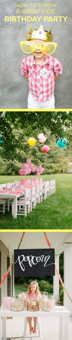@abbylarson takes the stress out of throwing an at-home kid's birthday party by sharing her best tips.