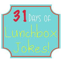She Who Delights: 31 Days of Lunchbox Jokes I'm using this in my classroom on the LOL wall. You are in the right place about Silly Jokes hilarious Here we offer you the most beautiful pictures about t Jokes And Riddles, Silly Jokes, Funny Jokes, Jokes Kids, Hilarious, Funny Kids, Cute Kids, Kids Lunch For School, School Lunches