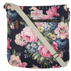 Go hands-free with our pretty yet practical cross body bags. Discover bags adorned in our iconic modern vintage prints as well as vibrant leather styles. Cath Kidston London, Cath Kidston Bags, Cath Kidston Cross Body Bag, Do It Yourself Crafts, New Bag, Bloomsbury, Vintage Fashion, Vintage Style, Cleaning Wipes