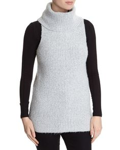 grey Savida Cowl-Neck Jumper