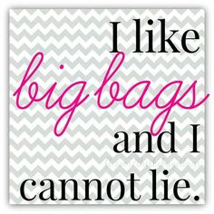 Love it and little bags too as long as they are 31! Thirty One Gifts! Join my FB. group,a place for my Customers and new future Customers! NO 31 Consultants please! Thanks https://www.facebook.com/groups/221123648035423/                                                                                                                                                     More