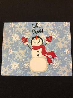 7 Let it Snow Snowman Sign Christmas Sign UV protectant Materials: Metal Sign Dollar Tree Christmas, Christmas Signs, Birthday Bulletin Boards, Birthday Board, Cute Snowman, Snowman Party, Snowmen, Christmas Crafts For Kids To Make, Holiday Crafts