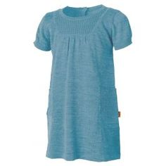 5db5f106 Str 6 år Lanullva Ullkjole Barn, Aqua Alle Lanullvaprodukter er strikket i  fin og ren