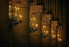 Notre Dame chandeliers