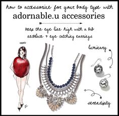 How to accessorize for your body type with adornable.u accessories apple