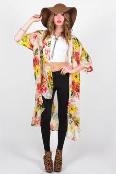 Lola Kimono - Gypsum Style || Women's Apparel & Accessories