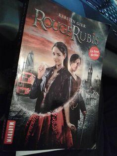 Rouge Rubis de Kerstin Gier (Source FB)(Photo: Dorinne Johnson) #VendrediLecture