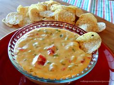 A delicious and easy recipe for Homemade Queso Dip. Your family will love this dip recipe and you will love knowing there's no fake cheese from Walking on Sunshine Recipes. Easy Appetizer Recipes, Appetizer Dips, Dip Recipes, Cheese Recipes, Mexican Food Recipes, Great Recipes, Cooking Recipes, Favorite Recipes, Recipies