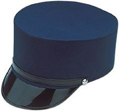 485cfb38377 Amazon.com  Large Navy Blue Conductor Hat  Toys   Games