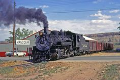 K-36 #483. She resides at the Cumbres & Toltec's Chama Yard awaiting cosmetic restoration. Wether she'll operate again I don't know. Fingers crossed.