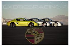 The Porsche Cayman R, Porsche 991 Carrera S and Porsche 997 Turbo S. Which one will you choose?