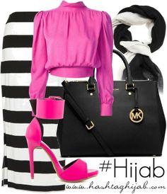 Baju yg modelnya gini  di semarang dimana ya -,- Hashtag Hijab Outfit #382