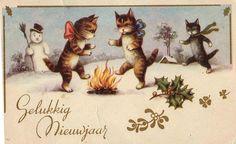 gelukkig nieuwjaar  1948   Bonne année!..happy new year