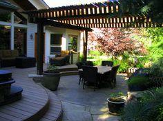 The Woods at Riverside Village Residence - traditional - patio - boise - Breckon Land Design