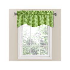 Waverly Lovely Lattice Window Valance - 50'' x 16'', Green