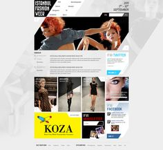 Istanbul Fashion Week by Metin Saray, via Behance