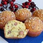 Muffin con pancetta e parmigiano ricetta sfiziosa