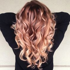 Hemels mooie haartrend: Rosé Gold - Beautify   kapsel trends   Scoop.it