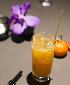 Mandarin with Lemongrass, Chilli and Mint [non-alcoholic] Cocktail