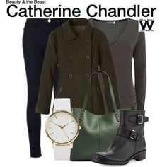 Inspired by Kristin Kreuk as Catherine Chandler on Beauty and the Beast.