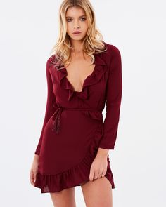 Tuscan Fling Ruffle Dress by Lioness Online | THE ICONIC | Australia