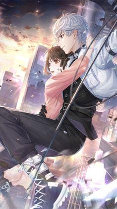 Love and Producer Anime Boys, Anime Cupples, Cool Anime Guys, Handsome Anime Guys, Anime Couples Manga, Cute Anime Boy, Anime Art, Cute Anime Coupes, Desenhos Love