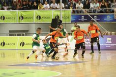 Acciones del juego entre Real Antioquia y Club Lyon.