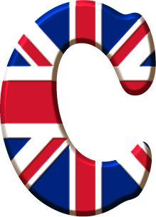 Alfabeto de la Bandera de Inglaterra.                                                                                                                                                                                 Más