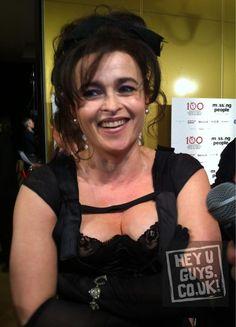 Helena Bonham Carter (Bellatrix)- Now