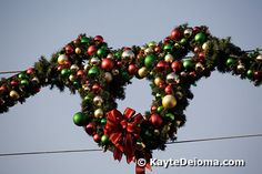 Disneyland Christmas Pictures: Mickey Mouse Wreath