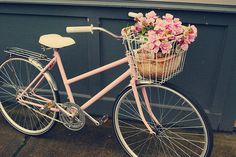 Vintage Pink Bike | Recent Photos The Commons Getty Collection Galleries World Map App ...