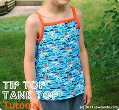 Tip Top Tank Top (using FOE) Tutorial